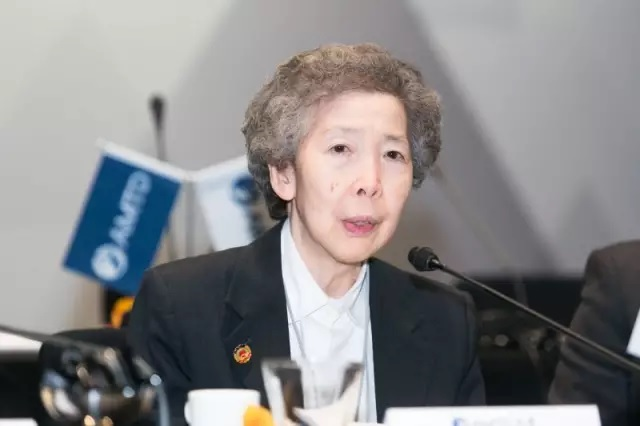 "A Role Model for Patriotic Heart: Dr. Annie Wu Suk-Ching, Miss ""Maxim"", Founder of Beijing Air Catering Co., Ltd., Chancellor of Chinese Foundation Secondary School and Co-Chairperson of AMTD Global Advisory Committee"
