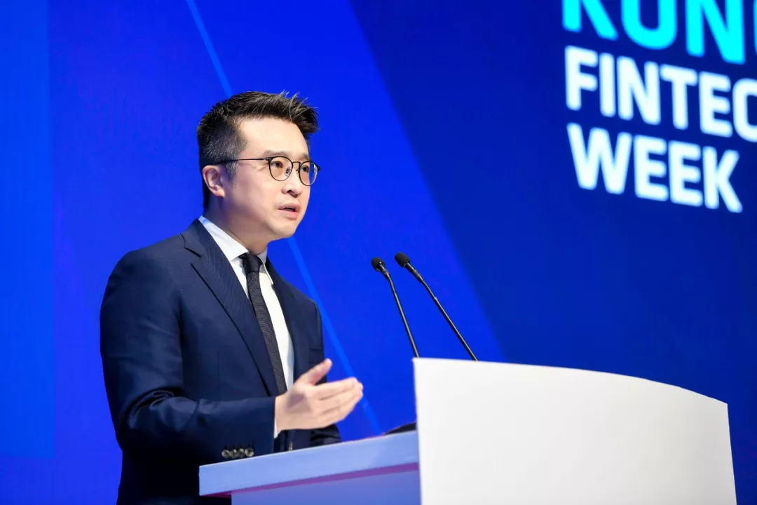 #HKFintech2019 Part 3 | Calvin Choi spoke at the opening ceremony of Hong Kong Fintech Week 2019
