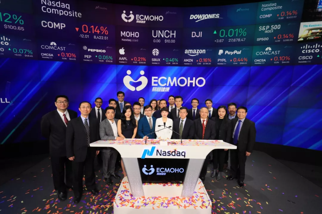 AMTD completes the US IPO of ECMOHO, China's first online non-medical health and wellness stock