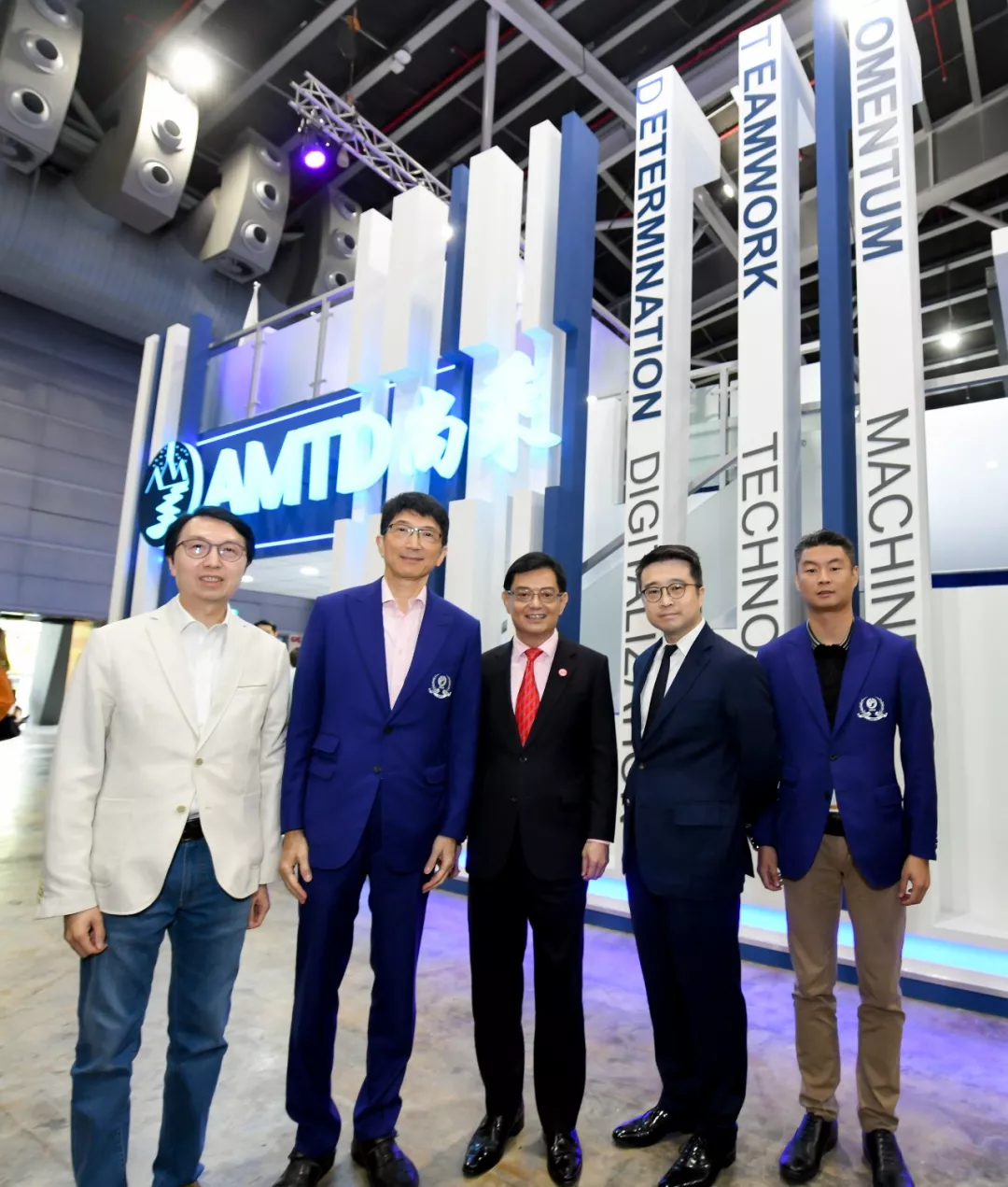 #AMTD x SFF Vol.4 | Heng Swee Keat, Deputy Prime Minister and Minister for Finance of Singapore, Vivian Balakrishnan, Minister for Foreign Affairs of Singapore and Ravi Menon, Managing Director of MAS met Calvin Choi