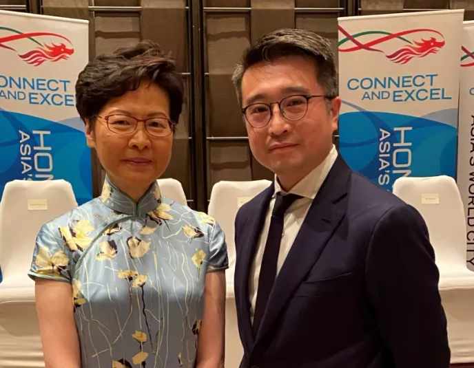 Calvin Choi, as the sole representative of Hong Kong-funded financial institutions in the business delegation of the Hong Kong Government, accompanied Carrie Lam and Edward Yau to Malaysia and Thailand