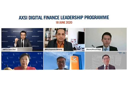 AMTD, Xiaomi Finance, SMU and ISS launch digital finance program