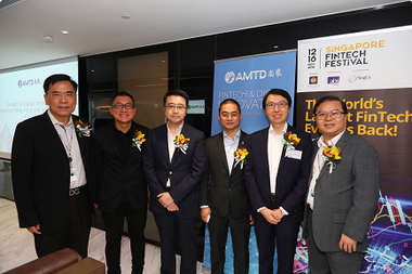 AMTD supported and sponsored Singapore FinTech Festival for Two Consecutive Years