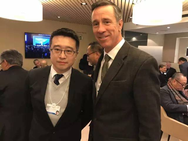 Calvin Choi led AMTD delegation to attend World Economic Forum 2017 Annual Meeting